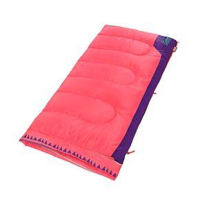Saco de dormir rectangular diseño rosa Coleman
