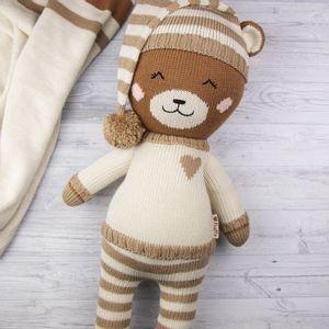 Peluche Fluffy Oso en Pijama Gonzo The Creative Bear XL Grande Beige