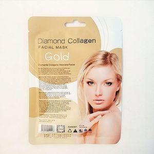 Mascarilla Facial Cherimoya de Colágeno Diamante Gold 60 ml