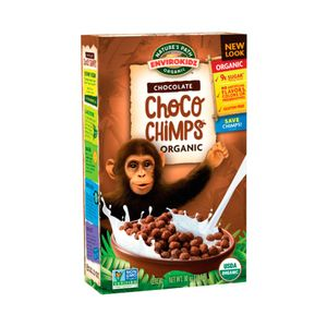 Cereal Orgánico Nature's Path Choco Chimp 300 g