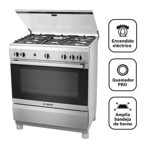 Cocina Pro 545 5 Hornillas Inox