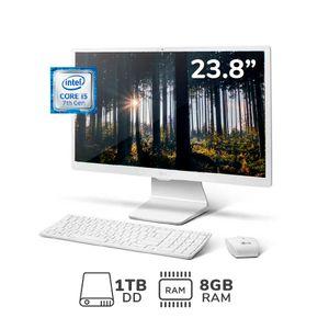 """AIO 24V570-G.AH58B4 23.8"""" CI5-7200U 8GB RAM 1TB DD"""