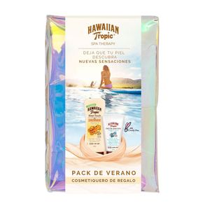 Pack Hawaiian Tropic Protector Solar Sensitive Skin Facial FPS50 60 Ml