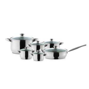Batería de Cocina 12 Piezas Prime Design Inox