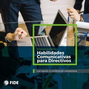 Diplomado Habilidades Comunicativas Para Directivos