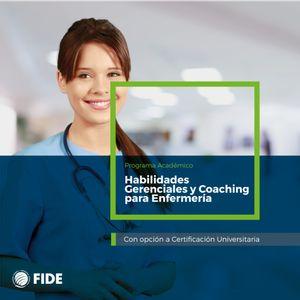 Curso de Actualización Habilidades Gerenciales y Coaching para Enfermería