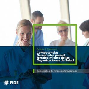 Curso Actualización Competencias Gerenciales Para el Fortalecimiento de las Organizaciones de Salud