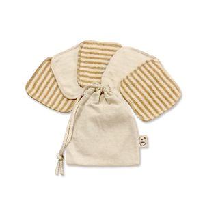 Cotton Pads Desmaquillantes The Ecobag Company Algodón Orgánico Color Cookies & Cream & Vainilla