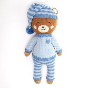 Peluche Oso Fluffy Pijama Gonzo Mediano Azul