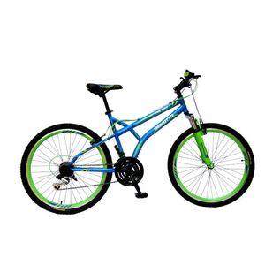 Bicicleta Benotto MSHWLF2718UNAV Fireback Aro 26 Azul/Verde