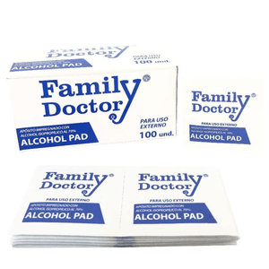 Pad Family Doctor Pañitos Desinfectante con Alcohol x 100un