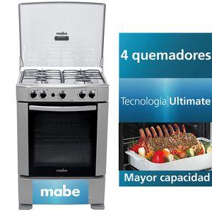 Cocina a Gas MABE 4 Quemadores CMP6012AG0 Grafito