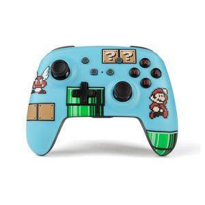 Mando Nintendo Switch Pro PowerA Wireless Super Mario Bros 3