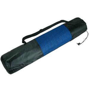 Mat de Yoga Pilates Fitness 10 mm Azul + Funda Transportadora