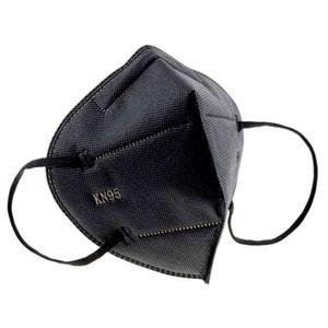 Mascarilla Kn95 Negras 5 Capas Importadas Certificadas (10 Unidades)