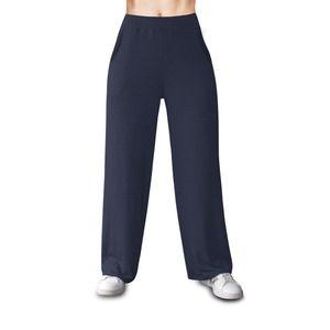 Palazo de Vestir Basic de Viscosa Ago Activewear Azul