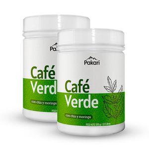 Pack Café Verde en Polvo 300 g Pakari Superfoods