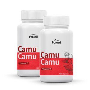 Pack Camu Camu 100 Cápsulas Pakari Superfoods