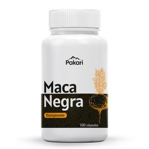 Maca Negra 100 Cápsulas Pakari Superfoods Energizante Natural