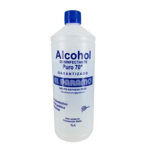 Alcohol Desinfectante 70° El Paramo x 1 litro