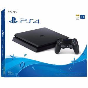 Consola PS4 Slim 1TB Jet Black