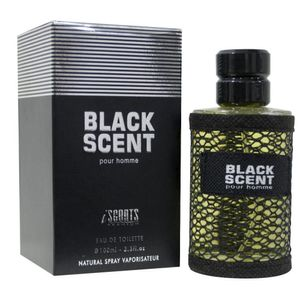 Fragancia Iscents Black Scent 100 Ml EDT