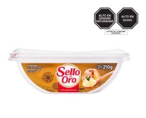 Margarina Sello De Oro Pote x 200  gr