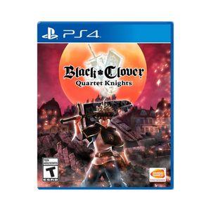 Juego PS4 Black Clover Quartet Knights