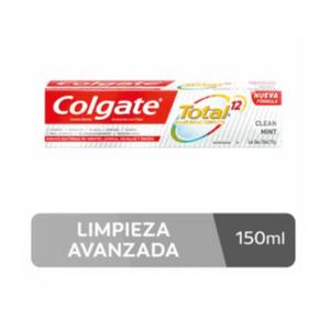 Crema Dental Colgate Total 12 Clean Mint x 150 ml