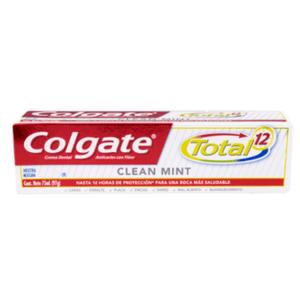 Pasta Dental Colgate Total 12 Clean Mint x 75 ml