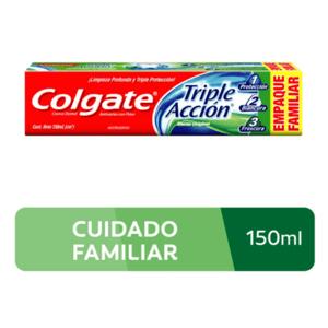 Crema Dental Colgate Triple Accion x 150 ml