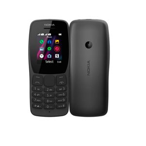 Celular Básico Nokia 110 Versión 2021 Dual Sim 1.8 GSM Radio FM Cámara Slot MicroSD
