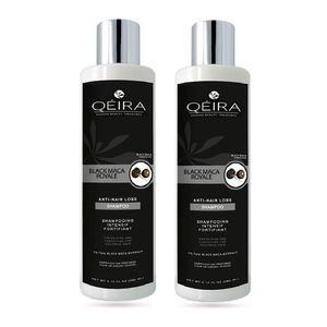 Pack Capilar Anticaída Qéira de Maca Negra Orgánica 2 Shampoos