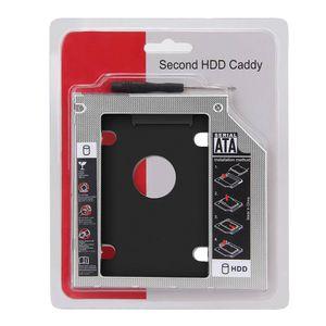 Adaptador Caddy 2nd para Disco Duro HDD SSD Sata CD DVD-ROM Universal 9.5mm