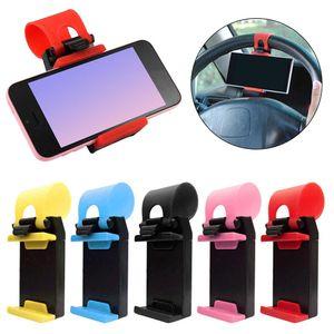 Pack X4 Sujetador Holder de Celular para Timón de Auto