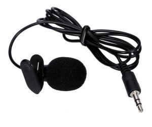 Micrófono Pechero Solapero Lavalier Estéreo para Entrevista