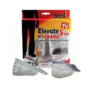 Plantillas Elevadoras para Calzado Elevate Shoes 5 cm Estatura