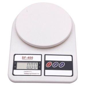 Balanza Electrónica Digital SF-400 de 1 gr a 5 kg para Comida o Joyas