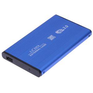 """Case Disco Duro Externo Sata 2.5"""" USB 3.0 Laptop PC Portátil Notebook Azul"""
