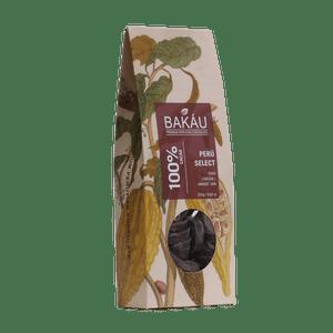 Chocolate Premium Bakáu Perú Select 100% Cacao 250g