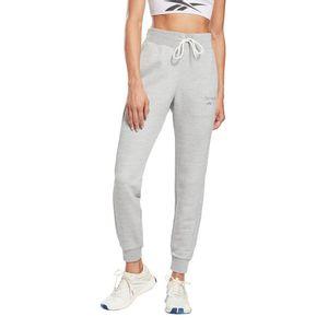 Pantalón de Buzo Reebok Mujer Te Textured Pant Gris