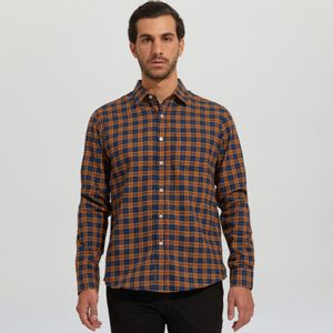 Camisa Hombre Flannel En Print
