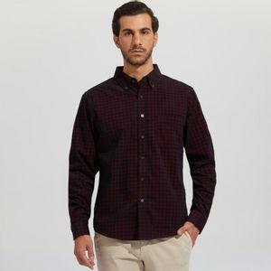 Camisa Hombre En Corduroy Con Checks