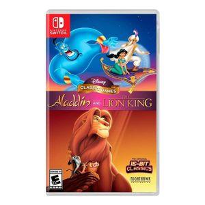 Juego Nintendo Switch Aladdin y El Rey León Juegos Clásicos de Disney