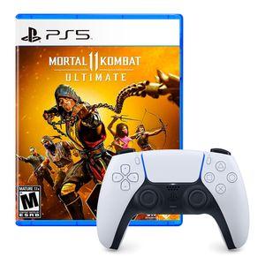 Mando Dualsense Playstation 5 + Mortal Kombat 11 Ultimate