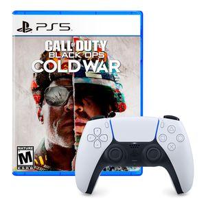 Mando Dualsense Playstation 5 + Call Of Duty Black Ops Cold War