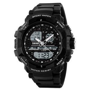 Reloj Skmei 1164 Híbrido Deportivo Negro