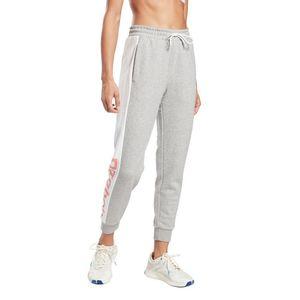 Pantalón de Buzo Reebok Mujer Te Linear Logo Ft Pant Gris