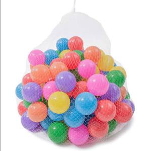 Pack de 100 Pelotas de Plástico Multicolores