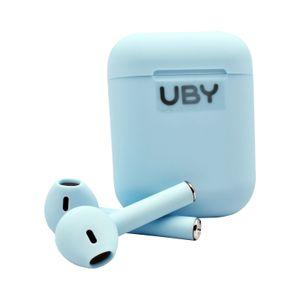 Audífonos Bluetooth I12 TWS 5.0 Auriculares de Control Táctil Celeste